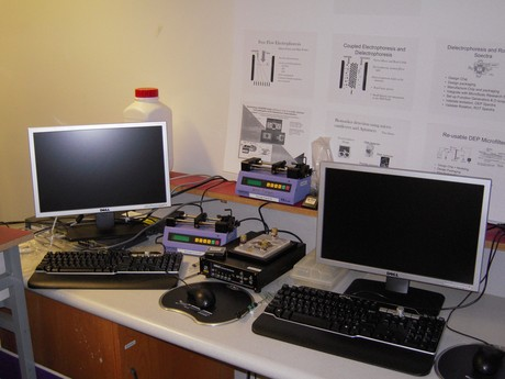 Microfluidic Test Station