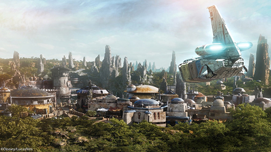 Photo of new Disney Star Wars attraction