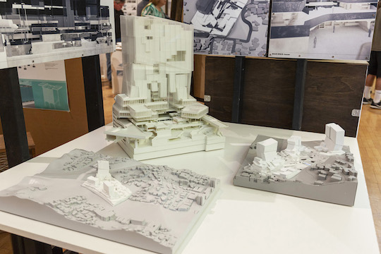 Danial Mahfoud's thesis project, Solid Space, was one of the nearly 150 projects featured at the 2018 Cal Poly Fifth-Year Architecture Thesis Showcase. His project proposed a new form of urban space for Los Angeles in which diverse social, economic and political constituencies are radically integrated.