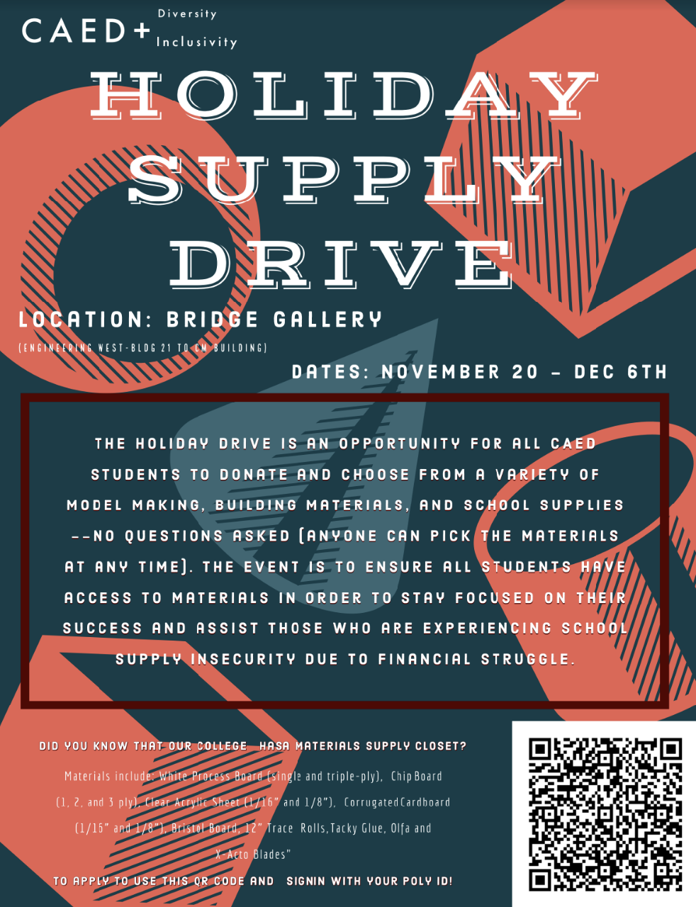 Holiday Supply Drive