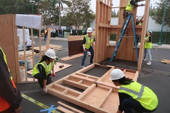 Cal Poly Students Assemble at Timber Competition