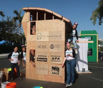 Cal Poly Students Finished at Timber Competition