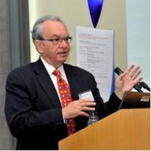 photo of William Siembieda at podium