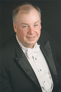 Pianist and Music Department Chair W. Terrence Spiller.