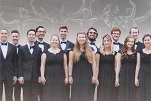 Photo of students in the Cal Poly Choirs