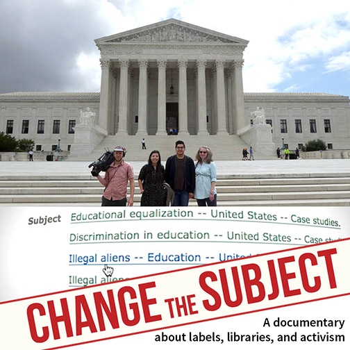 Promotional photo for Change the Subject documentary