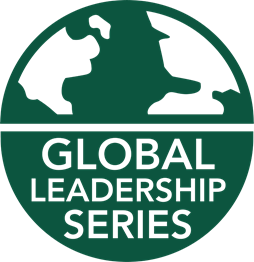 Logo reading Global Leadership Series