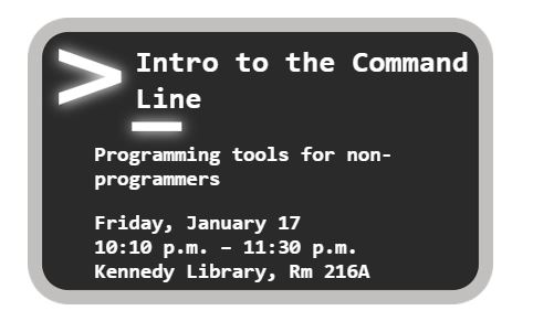 Intro to the Command Line