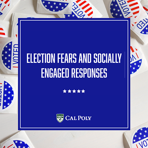 Election Fears and Socially Engaged Responses