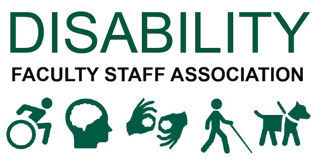 Logo for Disability Faculty Staff Association