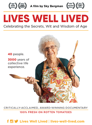 Movie poster for Lives Well Lived film