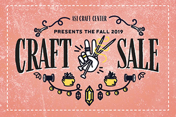 Illustration for ASI Craft Center Fall 2019 Craft Sale