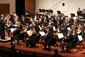 File photo of the Cal Poly Symphony