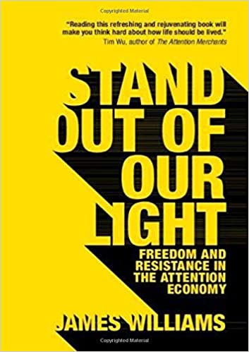 "Book cover ""Stand Out of the Light"""