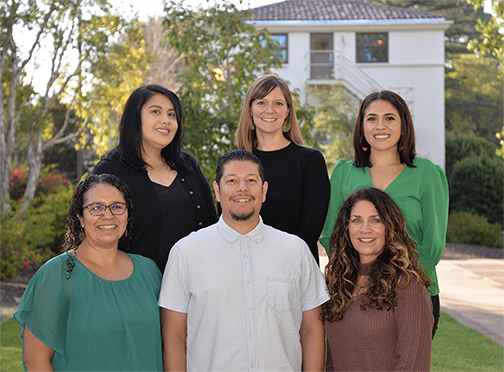 Top row – Soukita Thipsouvanh, Laura Hunkler, and Erika Wagner. Bottom row – Denise Lazar, Jack Sandoval, and Melinda McCann.