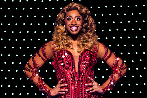 Promotional photo for the production of Broadway musical Kinky Boots