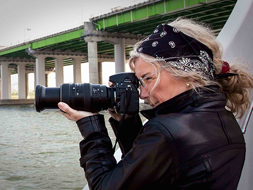 National Geographic photographer Jodi Cobb.