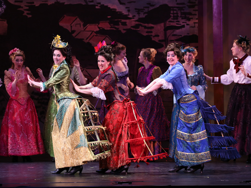 Promotional photo for The Mikado