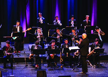 Photo from a past Winter Jazz Concert