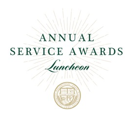 Annual Service Awards Luncheon logo