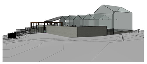 Rendering of the new plant conservatory.