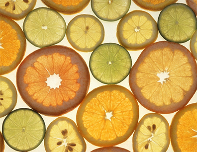 Photo of sliced citrus fruits.