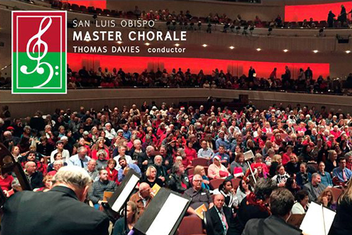 Photo from a performance of San Luis Obispo Master Chorale