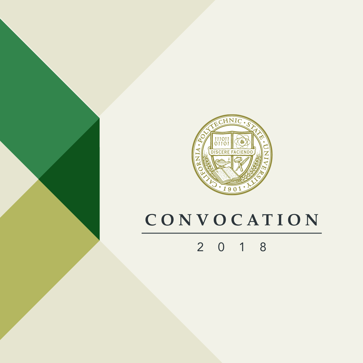 Graphic for 2018 Convocation.
