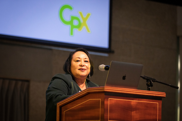 Jozi De Leon, Cal Poly's vice president for diversity and inclusion and chief diversity officer