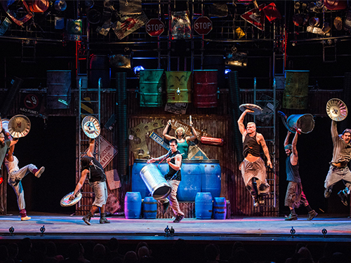 Promotional photo for the show STOMP