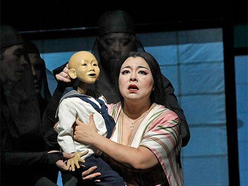 "Promotional image for ""Madama Butterfly"" opera"