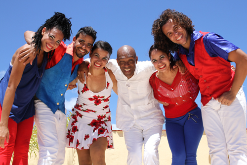 Promotional photo of the six members of Havana Cuba All-Stars