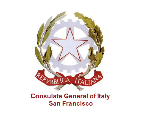 Logo for the Consulate General of Italy San Francisco