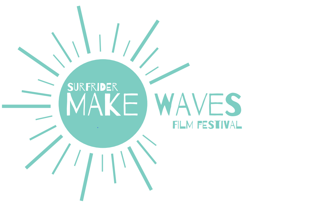 Logo for the Surfrider Make Waves Film Festival