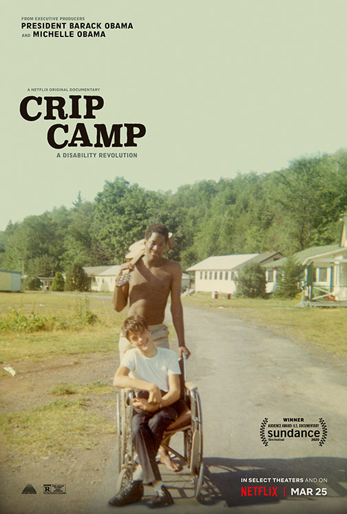 Film poster of Crip Camp movie