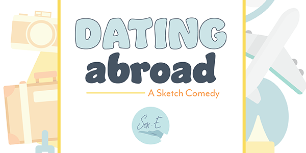 Illustration of cameras for Dating Abroad, a sketch comedy