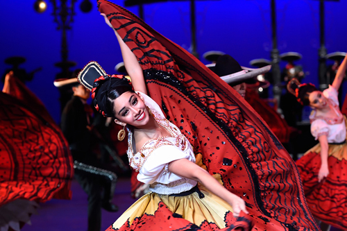 Promotional photo from Ballet Folklorico de Mexico