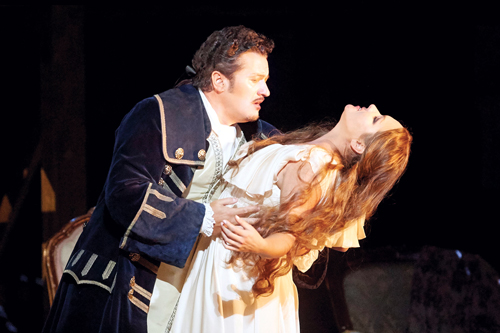 "Photo from the Metropolitan Opera's ""Adriana LeCouvreur"""