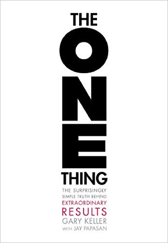 "Image of book cover ""The ONE Thing"""
