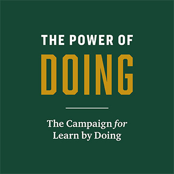 Logo for The Power of Doing - The Campaign for Learn by Doing