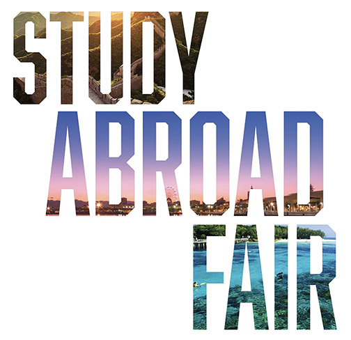 Graphic reading Study Abroad Fair