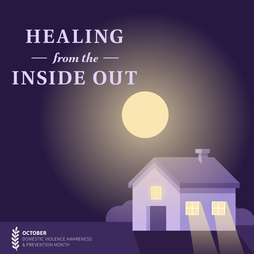 House with text reading Healing from the Inside Out