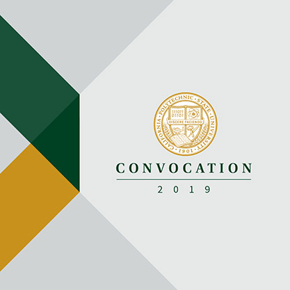 Screenshot of CalPoly Presidential Seal and Convocation 2019
