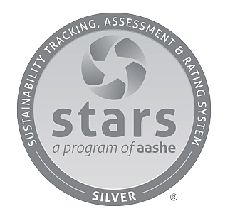 AASHE logo for silver STARS award