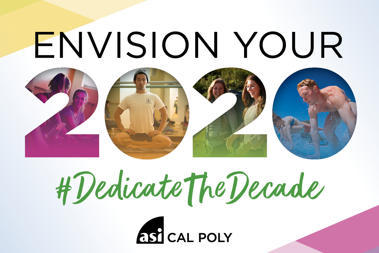 Envision your 2020 #Dedicate the Decade