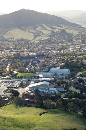 Cal Poly Spring View