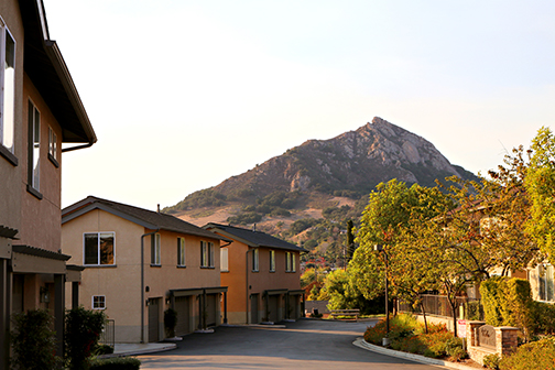 Photo of the Bella Montana residential housing complex.