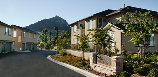 Photo of the Bella Montana housing community.