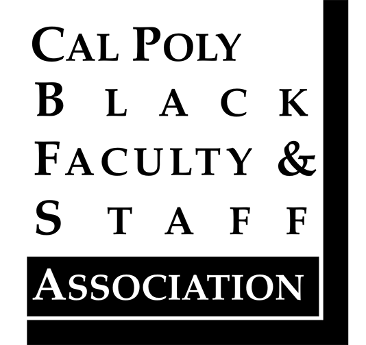 Logo for the Cal Poly Black Faculty and Staff Association