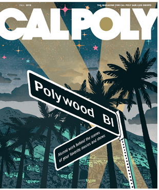 Cal Poly magazine cover
